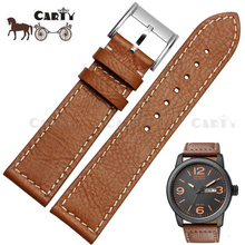 22mm Men Handmade Brown Genuine Leather Watch Strap fit for Citizen  BM8475-26E 00F00X Watch Repair Tool for Dropshipping