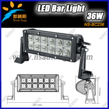 "Best price 7.5"" 36W  LED Work Light Bar High Power Off-Road SUV ATV UTE 4WD 4x4 led car Light combo,LED Driving Light Bars"