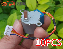 10PCS 24BYJ48 Deceleration Stepper Motor 4 Phase 5 Wire Stepper Motor DC5V Slow Small Micro Stepper Motor(6.5)