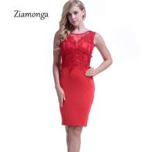 Ziamonga Women Summer Casual Bodycon Dress Sexy Evening Party Wear To Work Pencil Office Dress Elegant Embroidery Lace Dress(China)