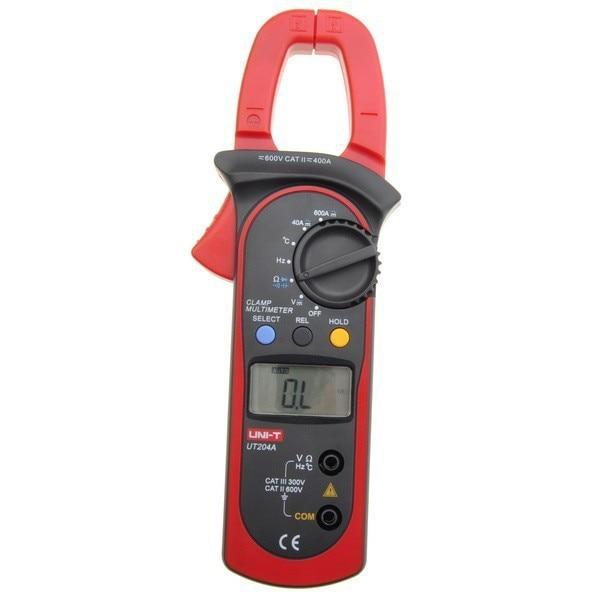 UNI-T UT204  Digital Clamp Meter Voltage AC current Diode Auto range<br><br>Aliexpress