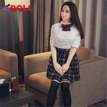 Buy 2017 New Real Silicone Sex Dolls Metal Skeleton Sex Doll Real Doll Sex Toys Rubber Woman Sex Shop Oral Anal Vagina Boneca Sexual