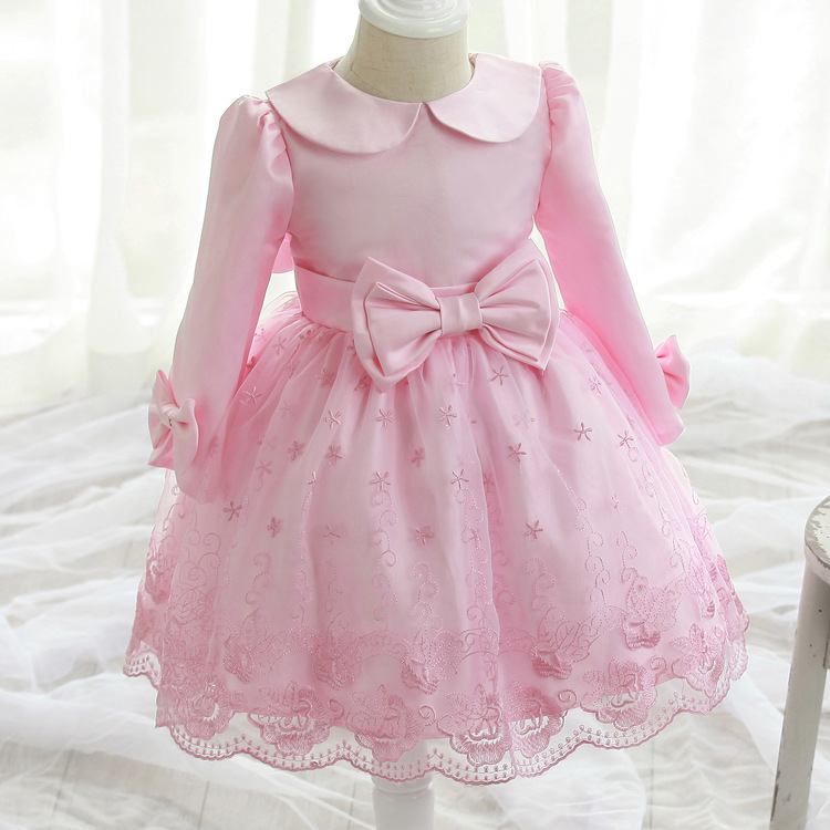 2017 Christmas Dress For Girls Free Shipping Retail Korea Princess Dress Girl Baby Children Summer Party Wedding 100-150cmgirl <br><br>Aliexpress