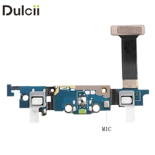 Dulcii Mobile Phone Parts for Galaxy S 6 Edge G925 OEM Charging Port Flex Cable Replacement for Samsung Galaxy S6 Edge SM-G925V(China)