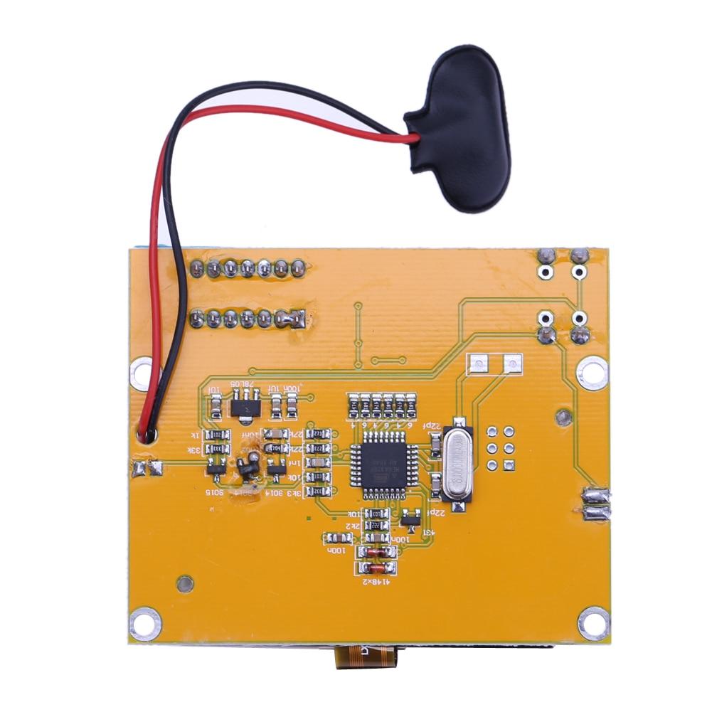 2X LCR T4 ESR Combo Digital Transistor Tester Diode Triode Capacitance indutor resistor MOS/PNP/NPN + Teste clipe 10