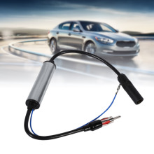 Auto Car Antenna Plug Radio FM Inline Signal Amplifier Booster Extension Cable