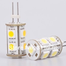 9Leds SMD 5050 G6.35 Led Bulb (DC10-30V/AC10-20V ) White/Warm White Commercial Engineering Indoor Professional Sailing