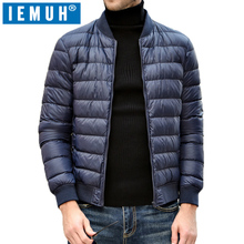IEMUH Casual White Duck Down Jacket Men Autumn Winter Warm Coat Men's Ultralight Duck Down Jacket Male Windproof Parka Top Brand(China)
