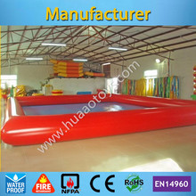 Free Shipping 8*6m Inflatable Swimming Pool for Adult and Kids(Free air pump+repair kit) any color you like