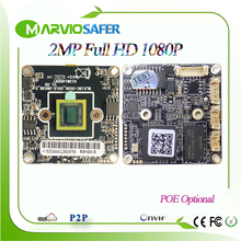 2MP 1080P Full HD High Definition Network CCTV IP Camera Board Module POE Optional Upgrade your traditional CCTV Camaras, Onvif