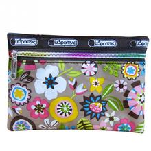 women Vintage Flower Clutch Bag for key card phone coin purse practical canvas daily little Girl Mini Short Coin Wallet