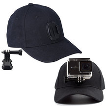 Adjustable Canvas Sun Hat Cap for Gopro Hero 5 4 3 SJCAM SJ7000 SJ6000 M20 Eken H9 H9R H8 Pro Yi 4K SOOCOO Sport Action Camera