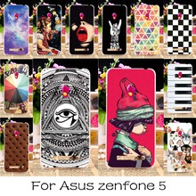 AKABEILA Soft TPU & Plastic Phone Cases For Asus Zenfone 5 ASUS_T00J (A501CG) A500CG A500KL ZenFone5 Silicone Case Back Cover(China)