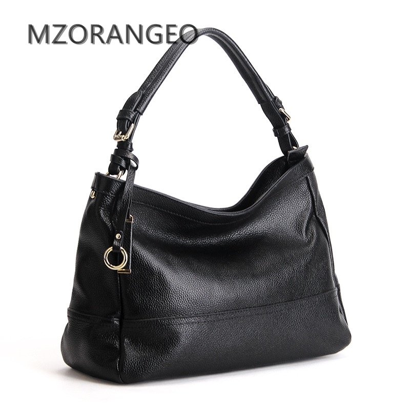 MZORANGEO 2018 Womens Genuine Leather Handbag Leisure Brands Handbags Fashion Design Lady Tote Cowhide Shoulder Messenger bags<br>