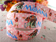 "17010167,New arrival 1"" (25mm) 10 yards/lot princess printed grosgrain ribbons cartoon ribbon DIY hair bows"