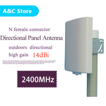 2.4g wifi directional antenna Indoor Outdoor 2400-2483MHz Wall Mount Patch Panel Flat Antenna WiFi high gain 14dBi factory price