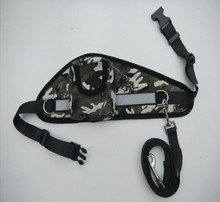 Free Shipping By China Post New Arrival Camouflage Dog Leash With Pocket For Dogs Owner