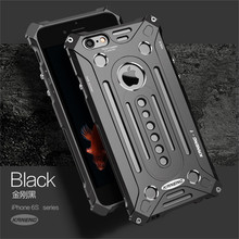 KANENG Brand Thor Luxury Heavy Duty Armor Metal Aluminum Mobile Phone Bag Cases for Apple iPhone 7 7Plus 5 5S SE 6 6S plus cover