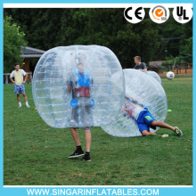 Free shipping 0.8mm PVC 1.2m diameter giant inflatable ball,inflatable soccer ball,bubble football for kids