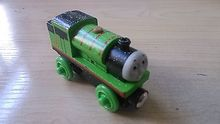 NEW WOODEN THOMAS friend The Tank Engine Train- snow percy