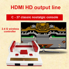 HAMY C-37 8 bit FAMI/DANDY CLASSIC EDITION TV Game console with two wireless controllers 88IN1 games with HD function 720DPI