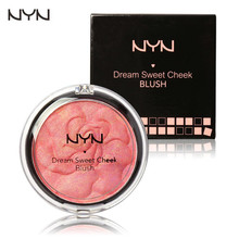 NYN Makeup Baked Blush Palette Baked Cheek Color Blusher Dream Sweet Cheek Blush Palette Professional Makeup Product