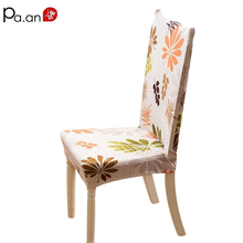 1pcs New Chair Cover Spandex Thick Plush Printed Seat Covers for Home Hotel Chair Chair Cushion Back Set Wedding Decoration