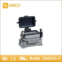 SMICO H10B-SG-CV-1L-PG16 heavy duty connector Al-alloy Die-cast Material top entry hood with UL certificate(China)
