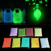 9 Colors Luminous Glowing Sand in the Dark Fish Tank Aquarium Decoration Ornament Fish Tank Luminous Sands