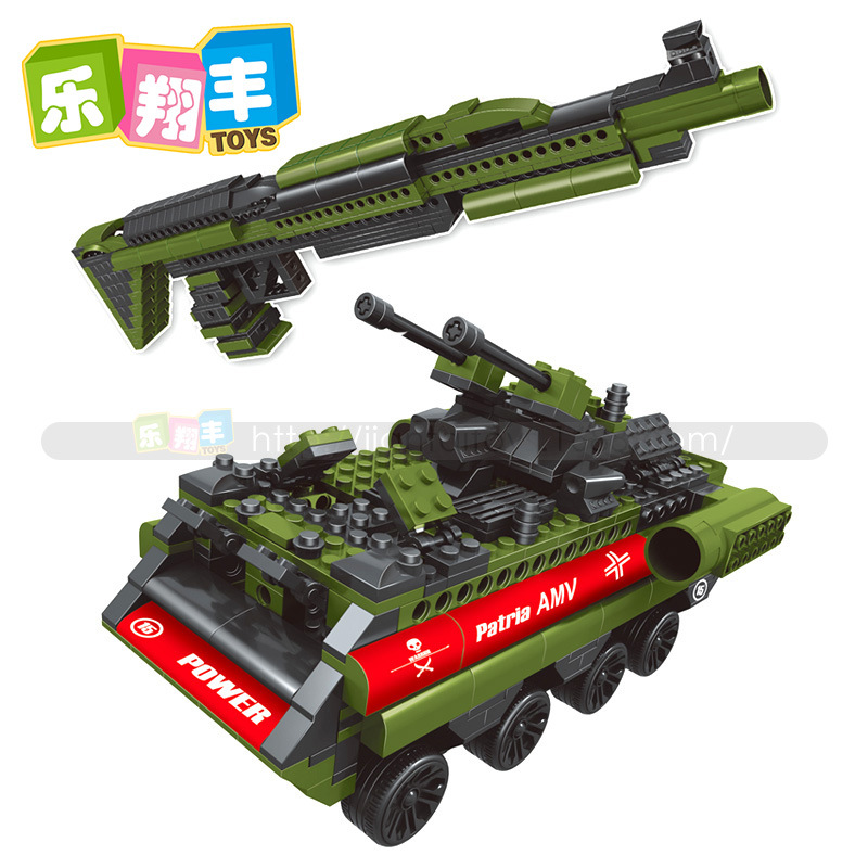 577pcs Military Plastic 2 IN 1 XM1014 Gun Weapon Model Building Block Sets Educational DIY Bricks Toys gift for kids with box<br><br>Aliexpress