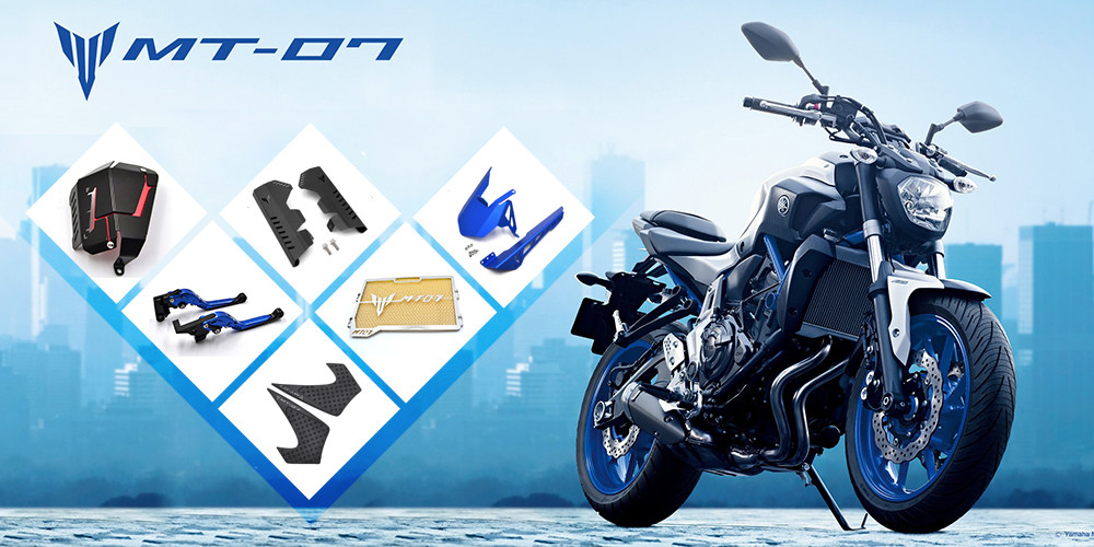 MT07 Motorcycle-1