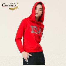Crocosport Original nuevo mujeres suéter con capucha mujer algodón ropa  deportiva ejercicio de entrenamiento ropa deportiva para. a6327faa4fe91