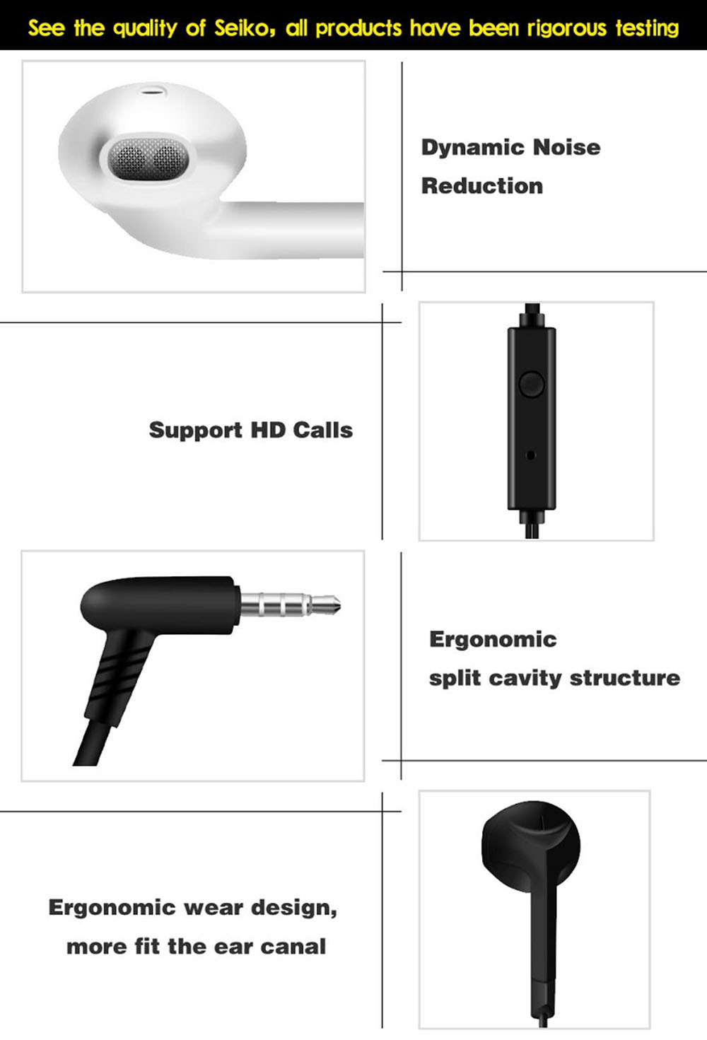 ALANTURING fashion bass earphone with microphone for iPhone iPod xiaomi huawei OPPO VIVO phone sound clarity wired headset