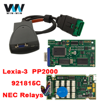 Lexia3 PP2000 for Citroen/Peugeot OBD OBD2 Diagnostic Tool with 921815C Chip Diagbox V7.83 Software Update By CD Mulit-language(China)