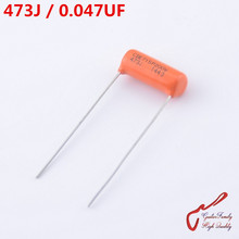 1 Piece GuitarFamily Orange Tone Capacitor  CDE715P 473J  0.047UF 200V  For Electric Guitar Bass Cap