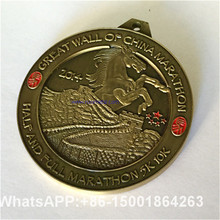 gain an immediate victory,China Great Wall Games medals custom, custom medals Horse, run the Great Wall Marathon Medal