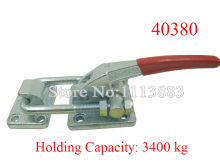 Heavy Duty Super Large Holding Force Latch Type Toggle Clamp 40380 3400KG 7502LBS Holding Capacity