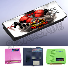 Preorder all metal Pandora 4S 680 in 1 street fighters 5 Home controle arcade Game Console for TV Support HDMI and VGA Output(China)