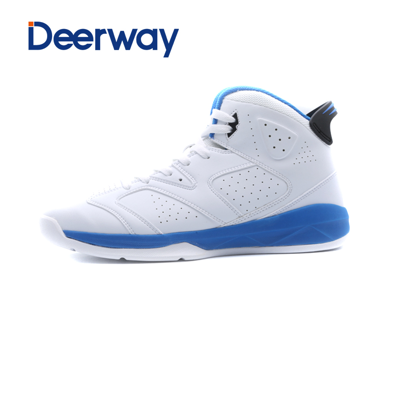 sale powerful quality men basketball shoes basket homme zapatillas de basquet athletic snekaer outdoor boots leather Stability<br>