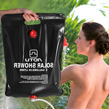 Outdoor Shower Water Bag Portable 20L 5 Gallon Shower Bag Camping Hiking Solar Heated Shower Bathing Bag Wonderful Travel Kits(China)