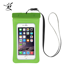 Swimming Mobile Phone Case Cellphone Holder Waterproof Bag Case Touch Screen Diving Swimming Underwater Camera Photograph Case(China)