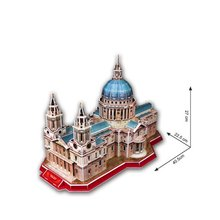 LeadingStar St. Paul's Cathedral Puzzle 107 Pcs 3 D MC117H Great Jigsaw Children Toy Hot Selling zk30(China)