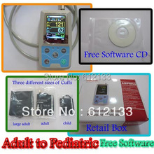 24 hours Ambulatory Blood Pressure Monitor Holter ABPM BP Monitor Pediatric to Adult