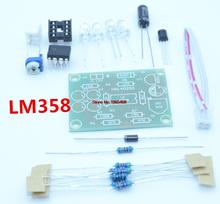 10 pcs Blue Led 5MM Light LM358 Breathing Lamp Parts Kit Electronics DIY Interesting Product Suite