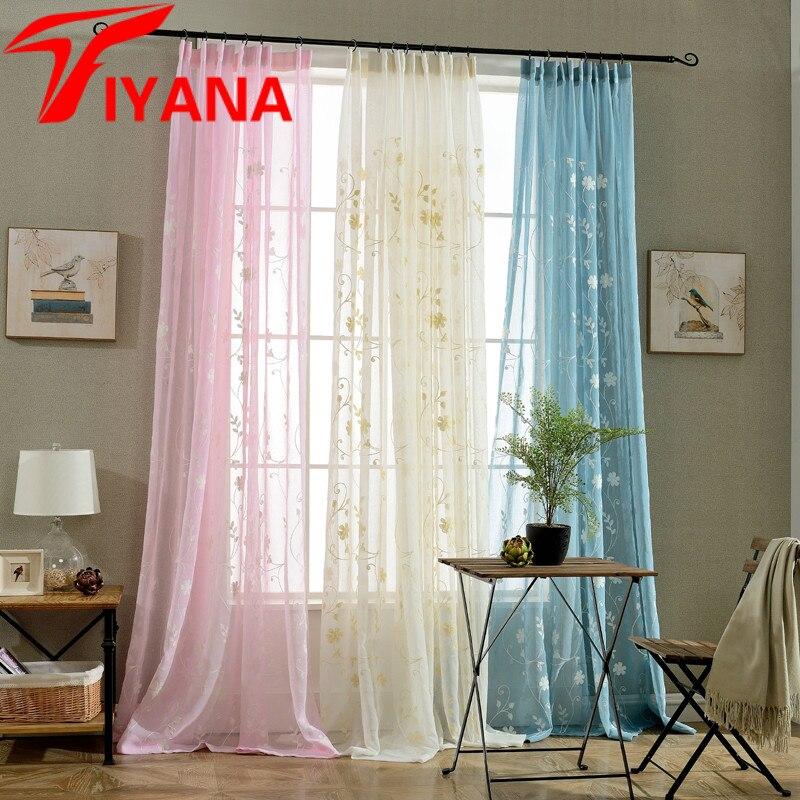 Online kopen wholesale romantische blauw slaapkamer uit for Romantische gordijnen
