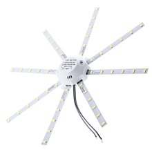 LED Ceiling Lamp Octopus Round Light 24W 1800Lm 48LEDs 5730SMD 220V for Foyers, Corridors, Hallways, Bedrooms, Offices