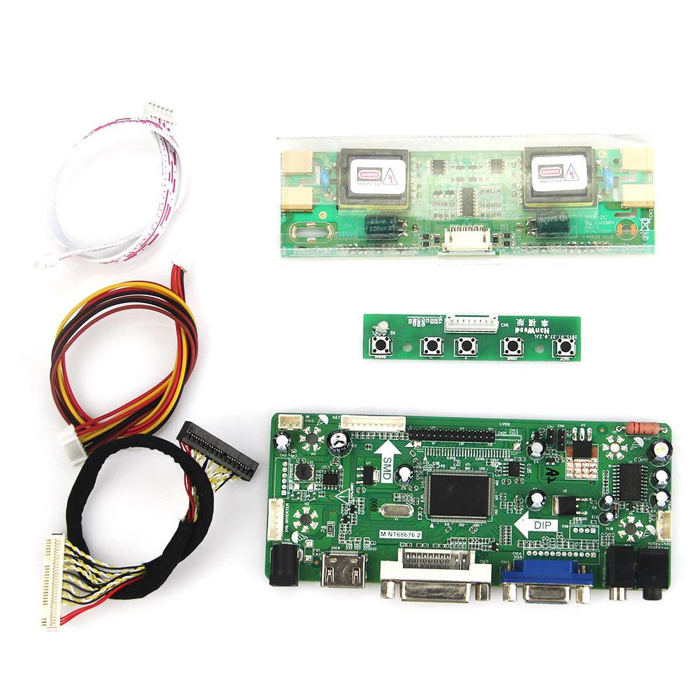 M.NT68676 LCD/LED Controller Driver Board(HDMI+VGA+DVI+Audio) For LM230WF1-TLA3 M236H1-L01 1920x1080 LVDS Monitor Reuse Laptop<br>
