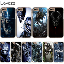 Lavaza Alien vs Predator Cover Case for iPhone X 10 8 7 Plus 6 6S Plus 5 5S SE 5C 4 4S Cases(China)
