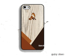 Fox Animals Wood Print silicon cellphone case cover for iphone 4 4s 5 5s 5c 6 plus Samsung Galaxy S3/4/5/6 edge Note2/3/4/5