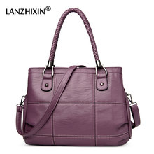 Lanzhixin Women Designer Handbags Women Leather Handbags Ladies Shoulder Bags Women Messenger Bags Crossbody Bags Tote Bags 3065(China)